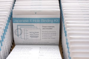 Photo of envelopes of bookbinding kit