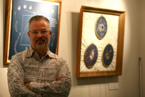 Mark with exhibit
