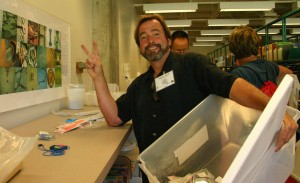 Photo of teacher at Lab-O-Rama