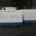 A recipe card for Green Eggs and Ham