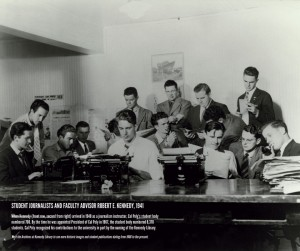 Cal Poly journalism students in 1941