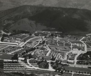 Aerial view of Cal Poly in 1958