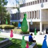 library-balloon sculptures