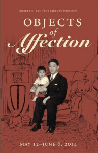 Objects of Affection exhibit poster