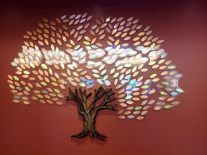 Donor Tree for Atascadero Library