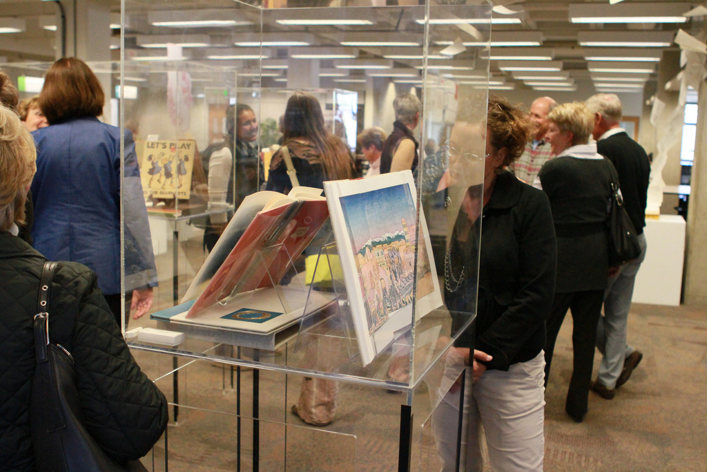 BCC exhibit opening at Kennedy Library