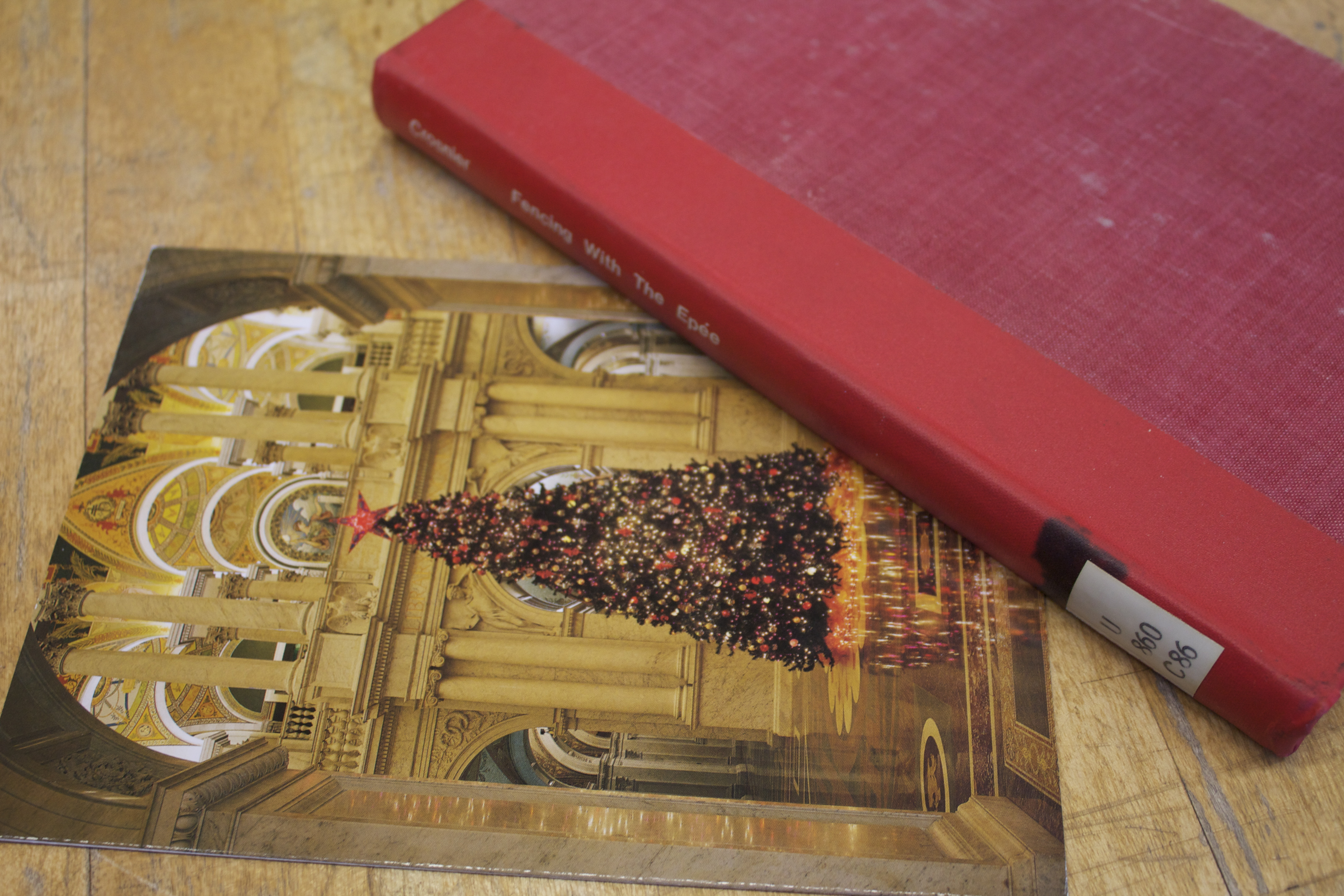Photo of Epee book returned for Christmas