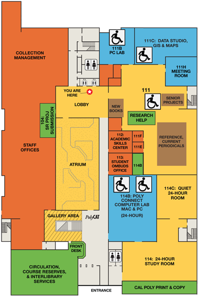 Accessible Technology first floor