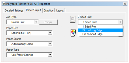 screenshot showing the Flip-on-Long-Edge option
