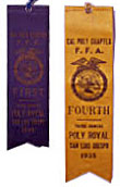 Early Poly Royal ribbons