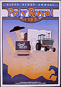 1983 Poly Royal poster.