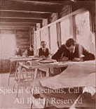 Morgan's temporary office after 1906 SF Earthquake and Fire Image © Cal Poly