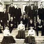 First Faculty and Students, 1903