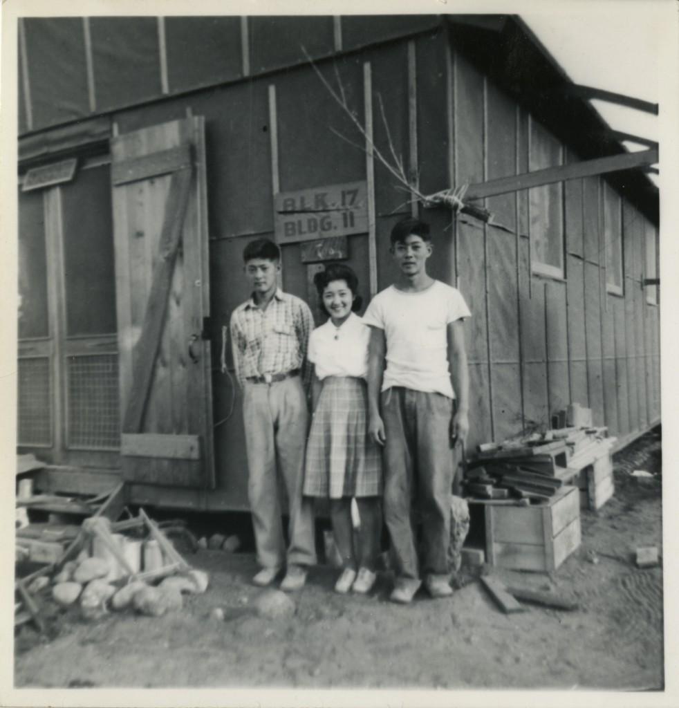 Roy, Henry, Akira, Sept. 1942, Manzanar