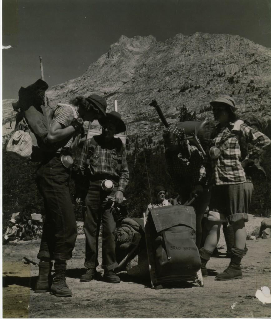 Sierra Club Trip, circa 1950