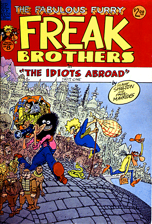 The Fabulous Furry Freak Bros. #8