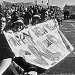Students at the Parade, 1969