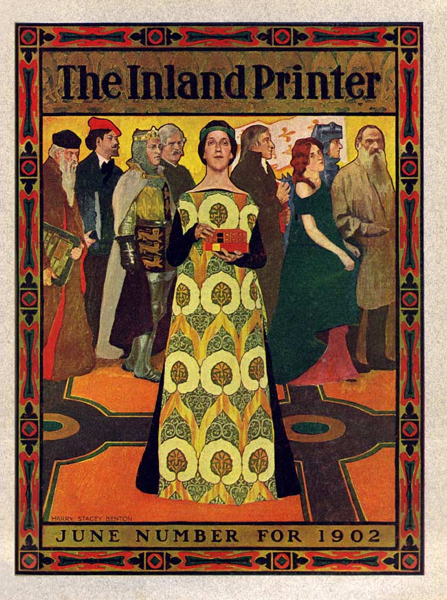The June 1902 cover for The Inland Printer, an important industry trade journal published for over six decades.