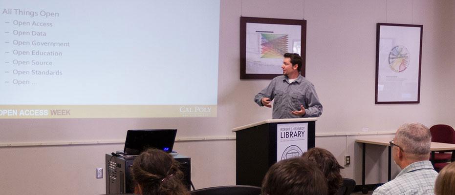 Russ talking on open data