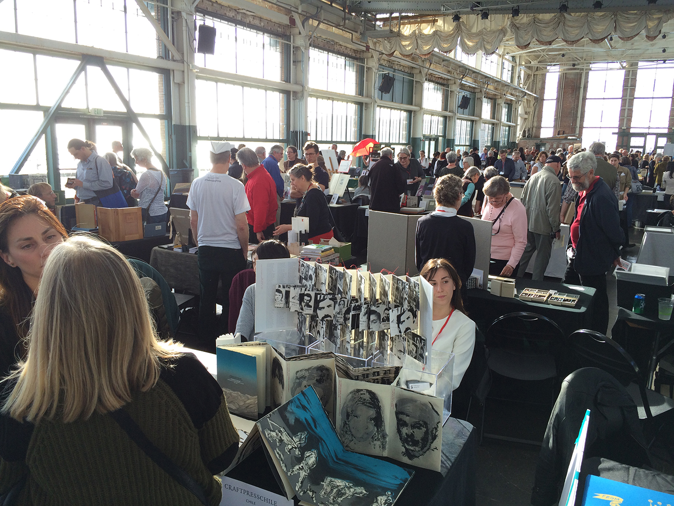 A view from the CODEX book fair (photo by Jessica Holada).