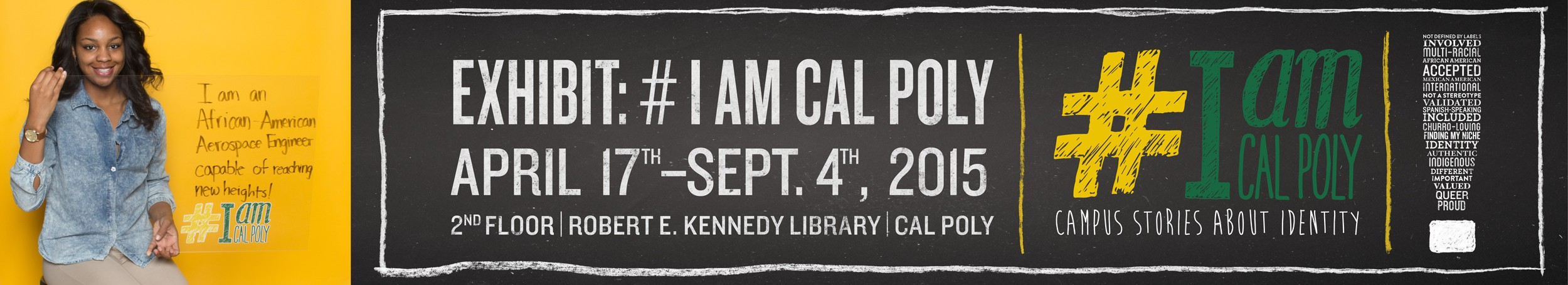 I am Cal Poly Exhibit