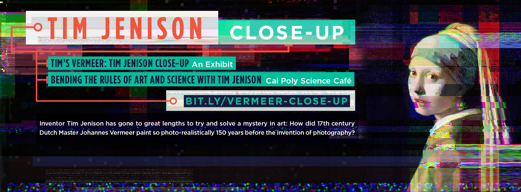Tim Jenison: Close-Up Exhibit and Science Café at Robert E. Kennedy Library