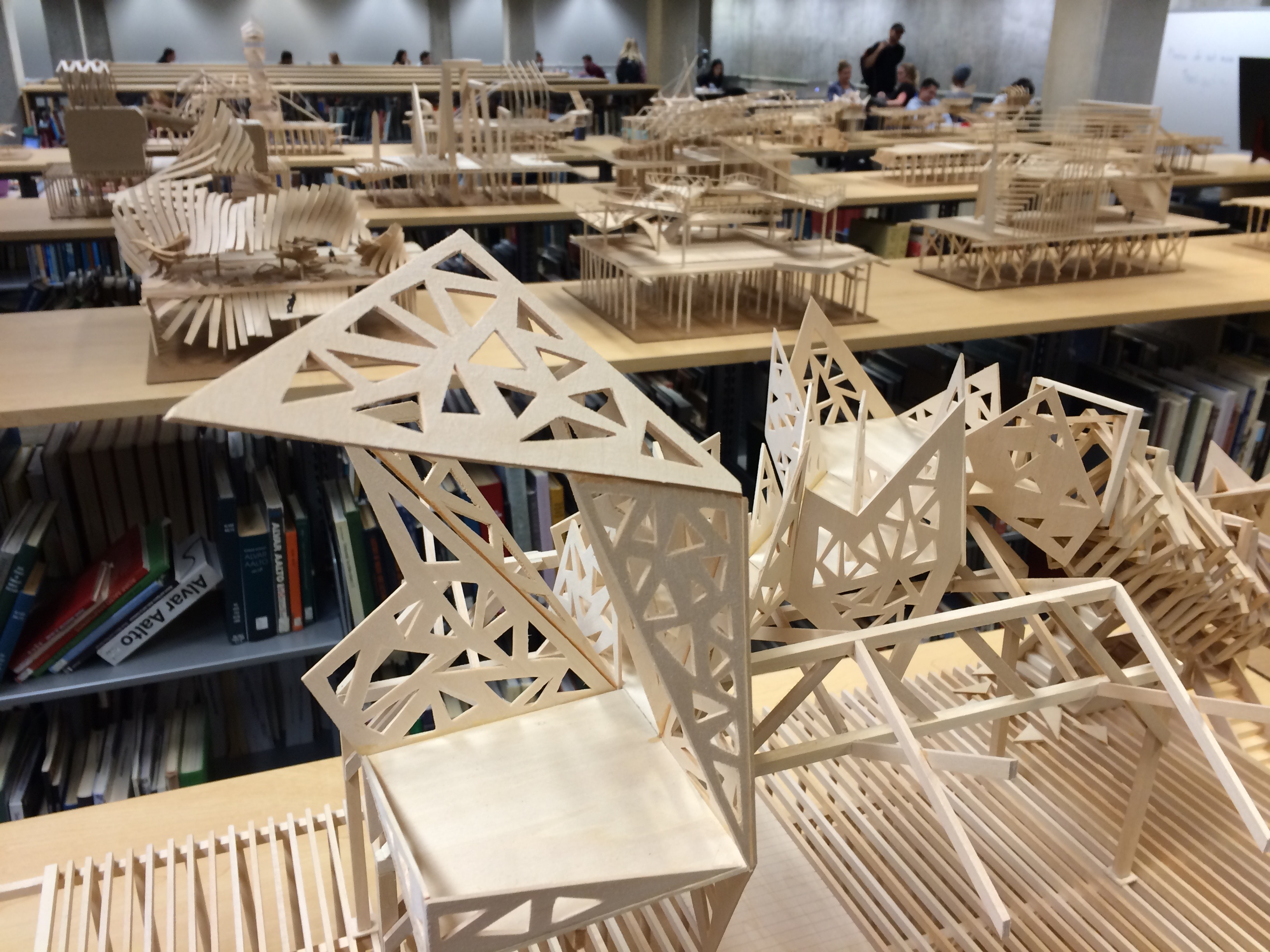 Architecture Studio Students student imagination on display kennedy library | home