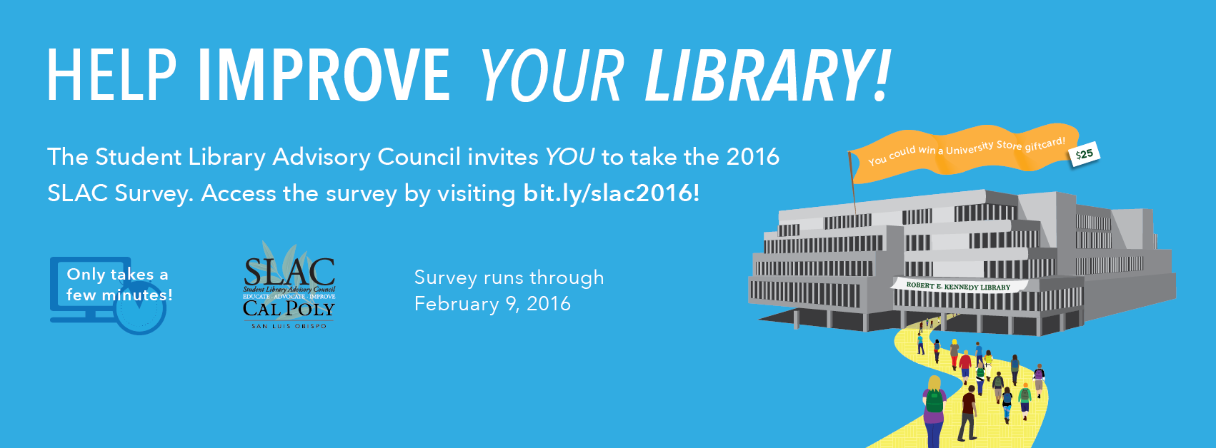 SLAC Survey Banner 2016