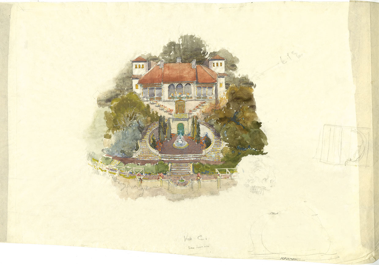 Julia Morgan Drawings