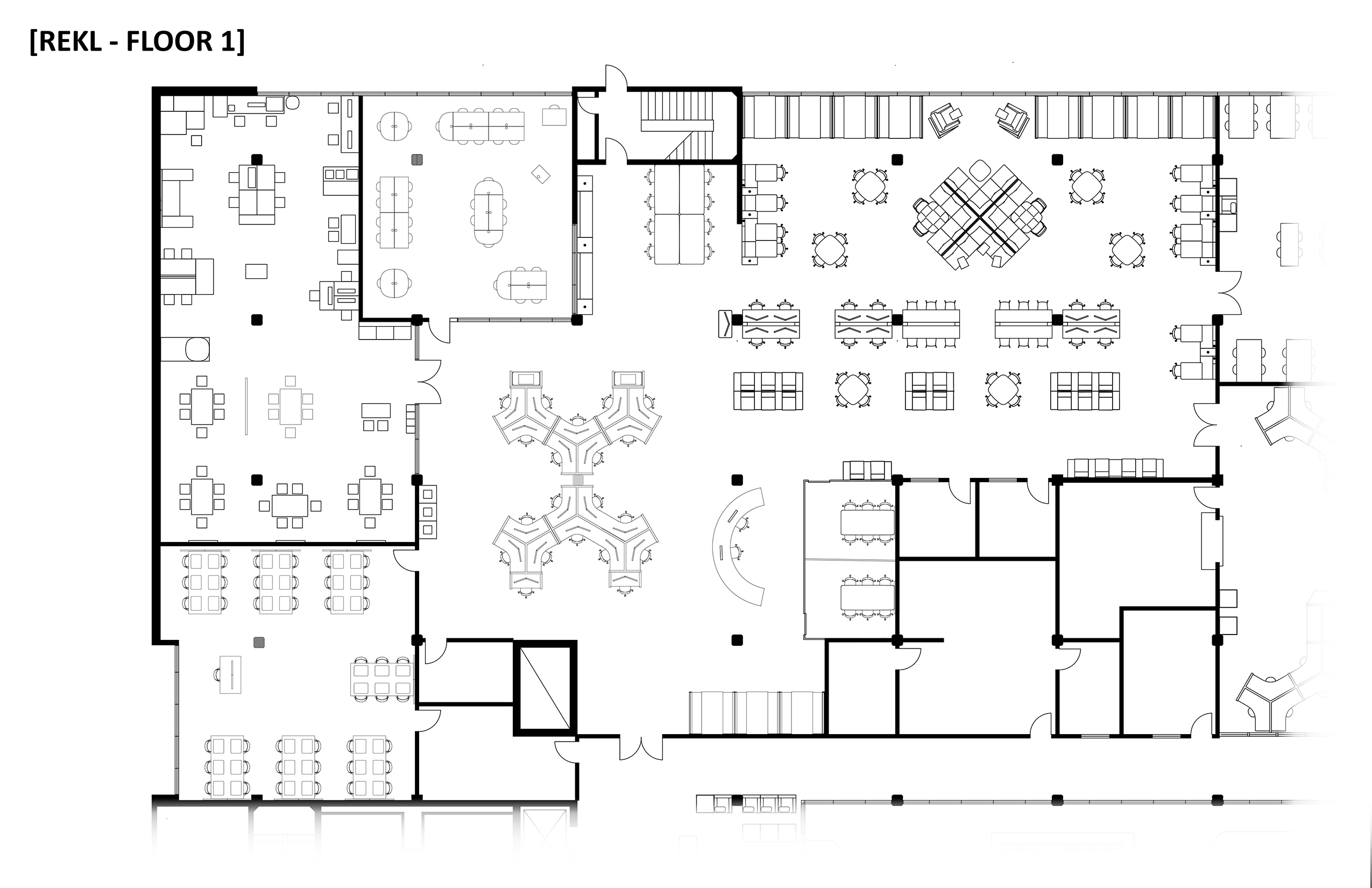 Below Is A Detailed Floor Plan Depicting The Furniture Layout For The  Student Success Fee Renovation Areas.