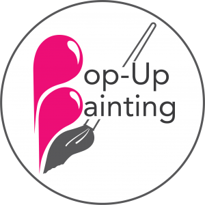 Pop-Up Painting Logo
